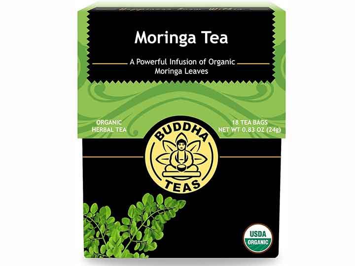 Buddha Teas Organic Moringa oleifera Tè