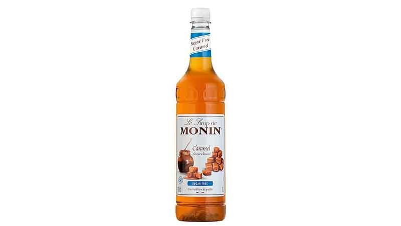 Monin Premium Caramel Sugar Free Syrup